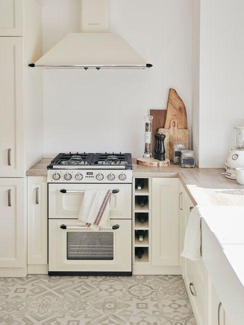 Rustikální kuchyně v paneláku 2