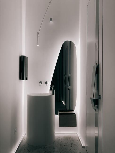 malá podkrovní koupelna