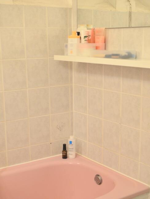 růžová vana