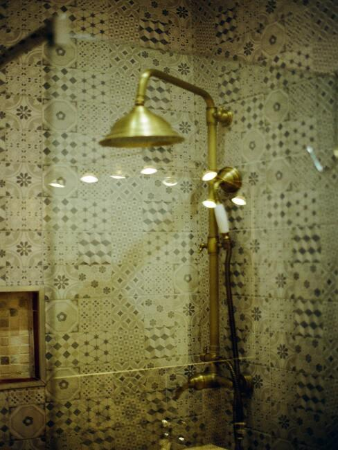 retro sprcha koupelna inspirace 2
