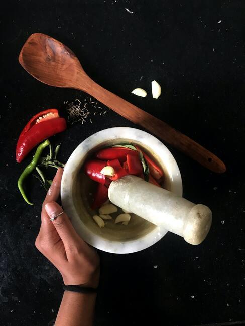 úprava chilli