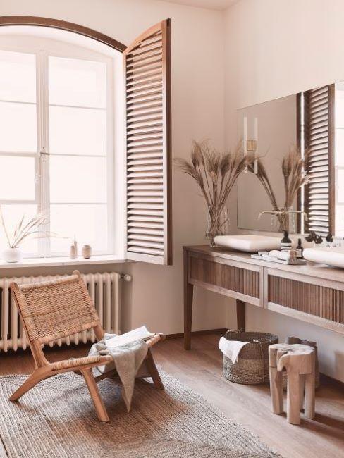 Koupelna v přirodním stylu 3