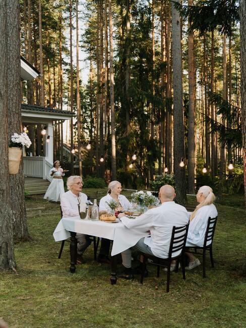 svatební Dekorace v rustikálním stylu