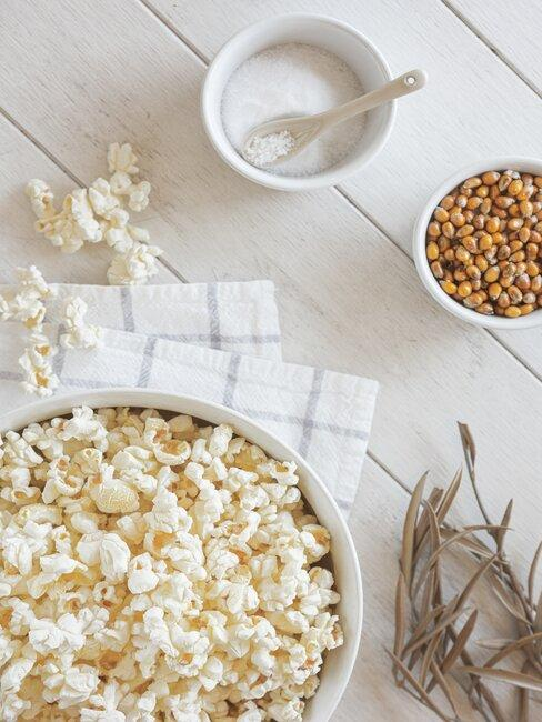 Popcorn je skvělé občerstvení