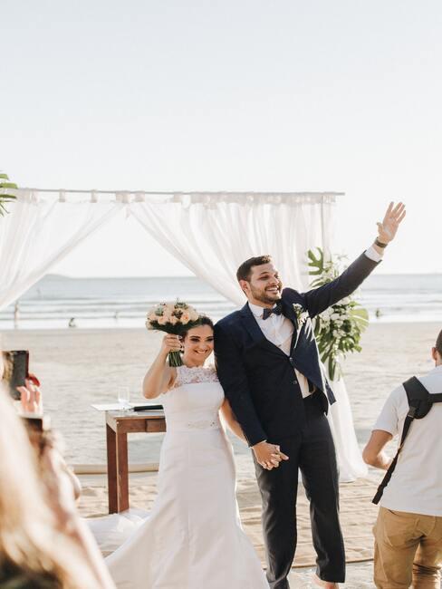 Svatební oblouk na pláži