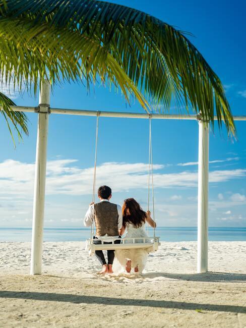6. Barevné schéma na svatbu u moře