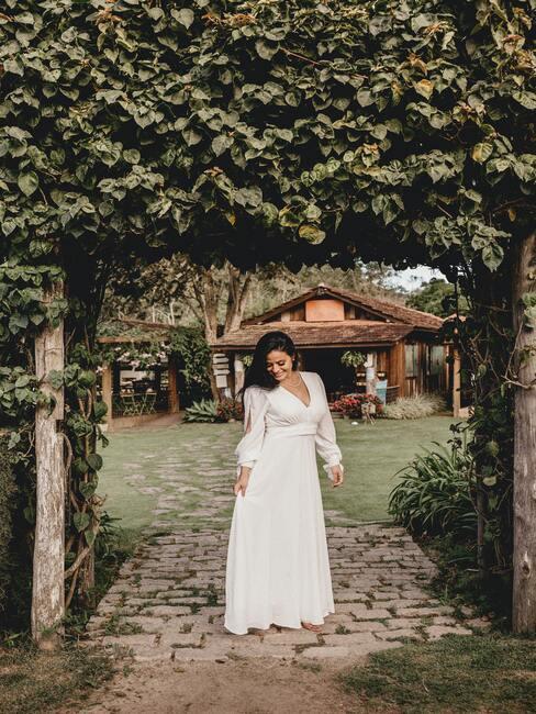 organizace svatby na zahradě 2