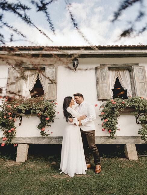organizace svatby na zahradě