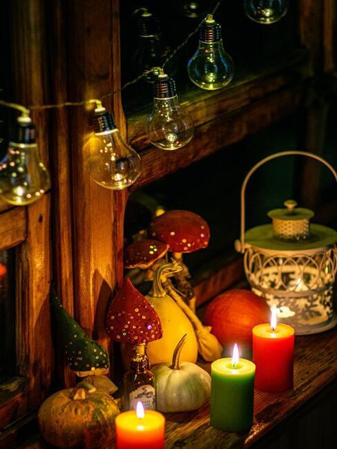 jak vyrobit podzimní dekorace