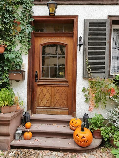 dekorace na dveře podzim 5