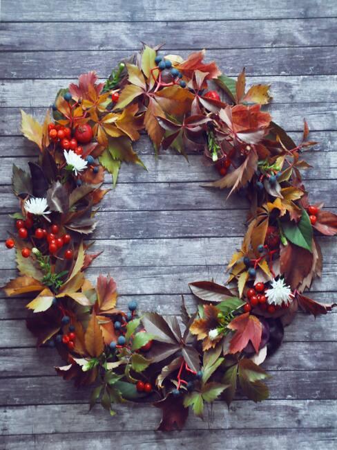 Podzimní věnec