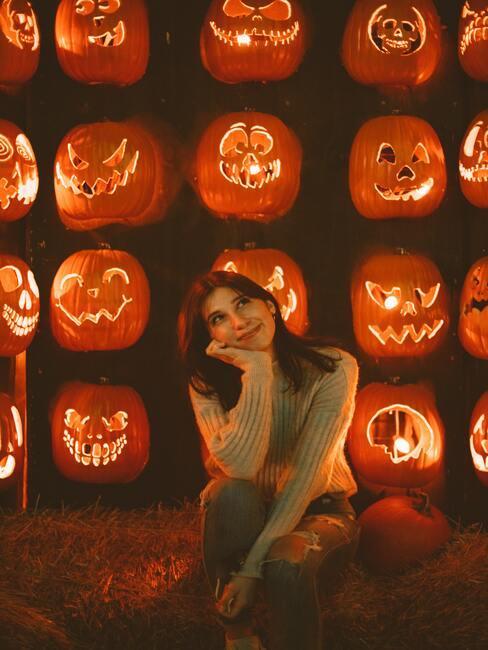 inspirace halloween dýně
