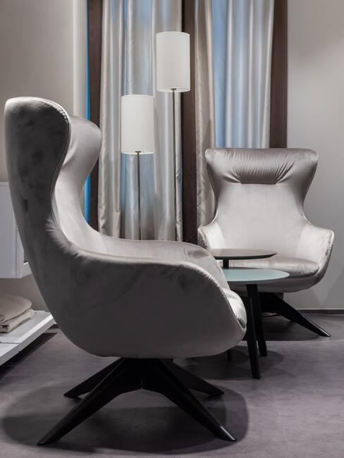 Obývací pokoj inspirace šedá
