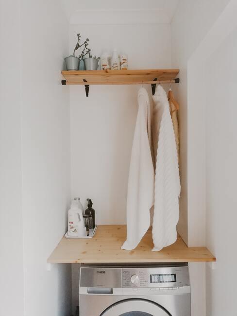 Moderní prádelna ve stylu