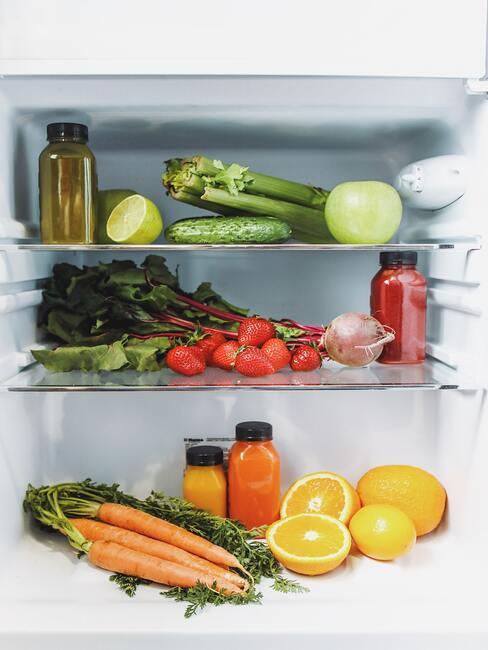 jak zorganizovat lednici