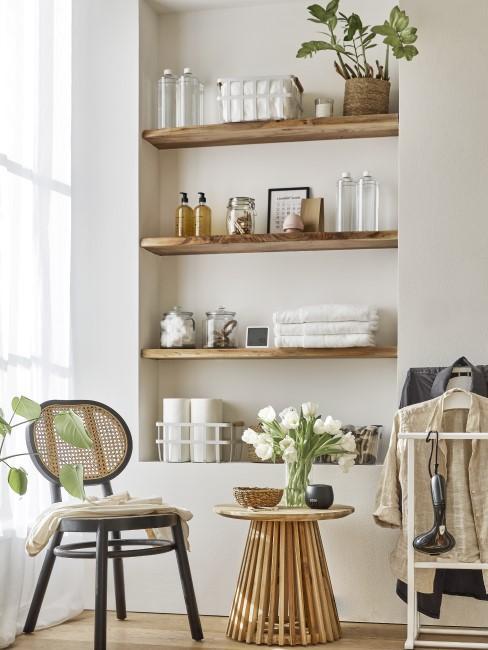 Eine saubere geputzte Wohnung
