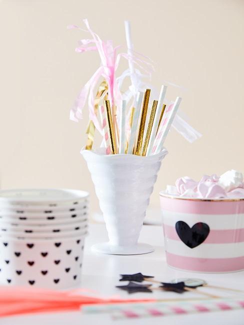Toppings y decoraciones para helados