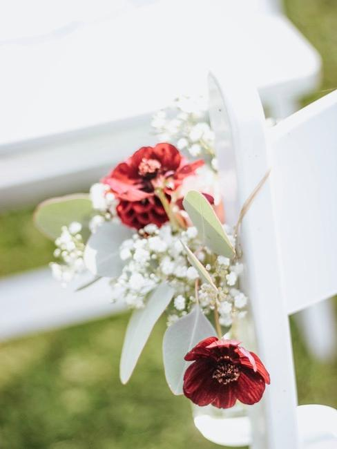 Schleierkraut Gesteck für Hochzeit