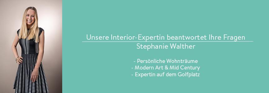 Interior Expertin Stephanie Walter beantwortet Fragen zu Designklassikern