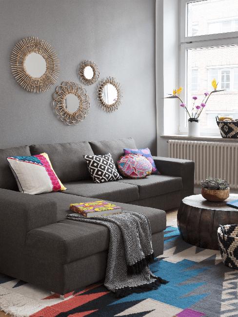 Wohnzimmer im Folklore Style