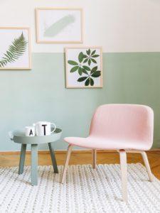 Ein Farbschema hilft beim dekorieren