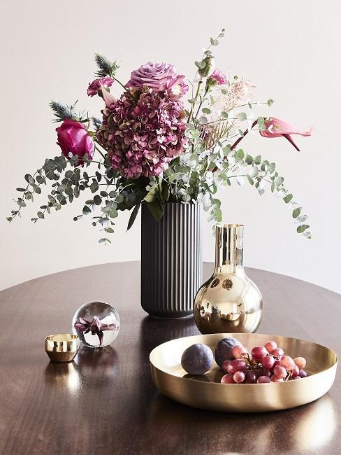 Kleines Esszimer einrichten mit Tischdeko