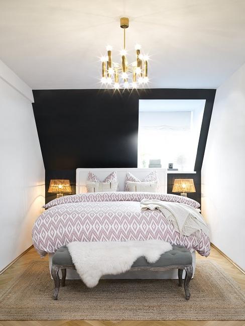 Wandfarben Ideen Schlafzimmer Schwarz
