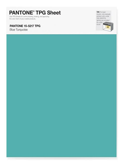 Trendfarbe Pantone Blue Turquoise
