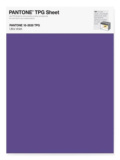 Pantone Trendfarben Ultra Violet