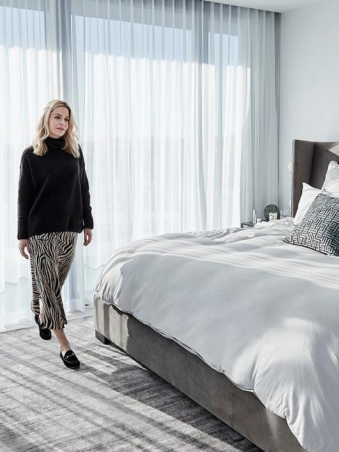 Designer Schlafzimmer mit Delia Lachance