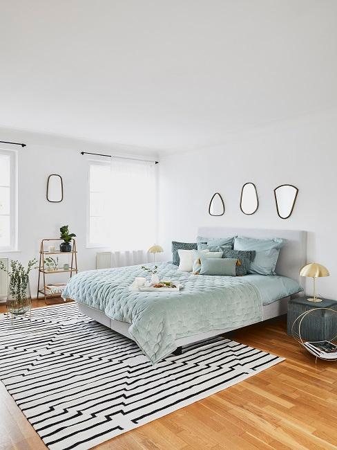 Schlafzimmer In Blau Unsere Schonsten Ideen Westwing