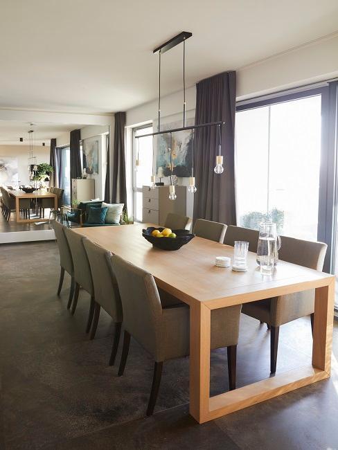 Ann-Kathrin Götze Wohnzimmer Materialien Holz Spiegel