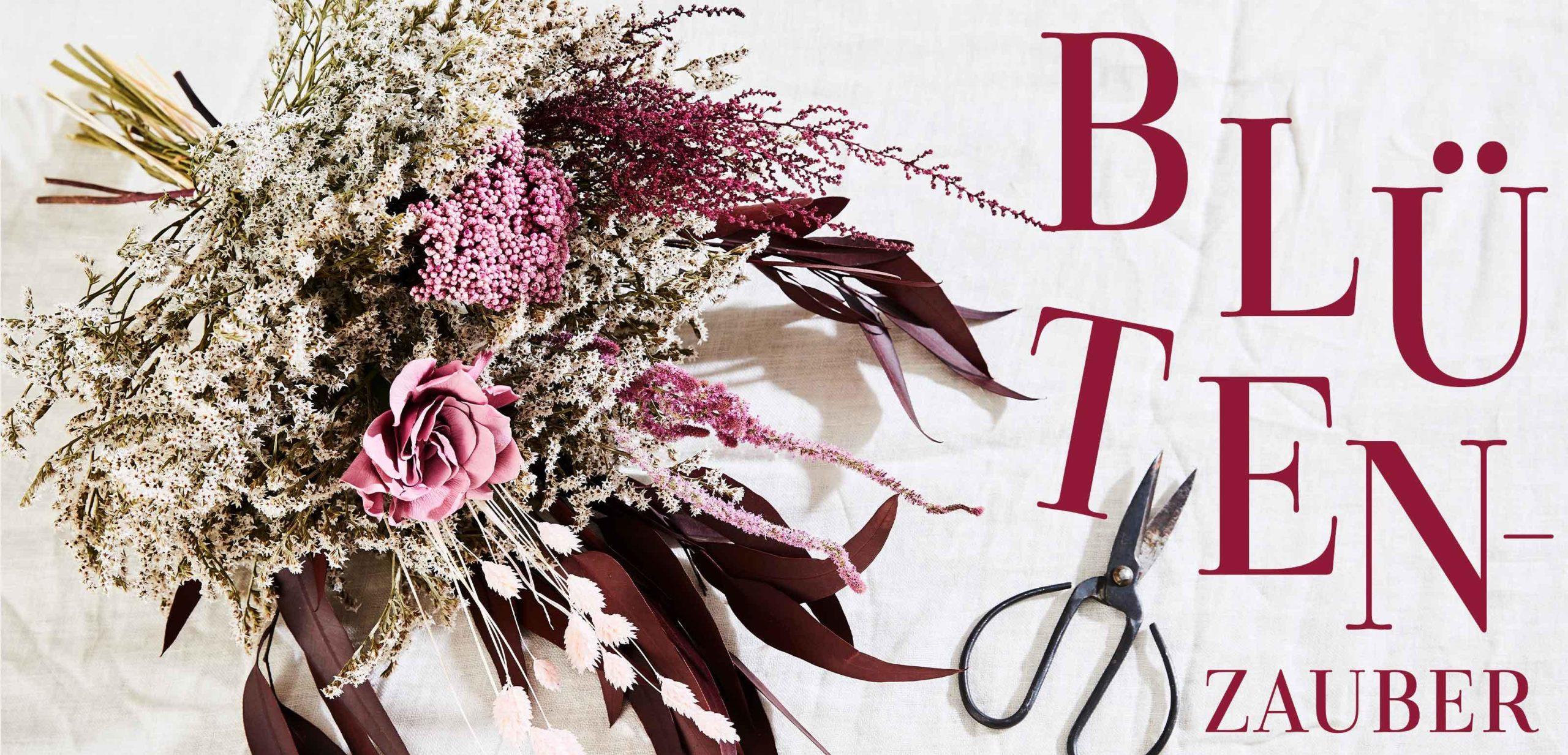Trockenblumen Anleitung