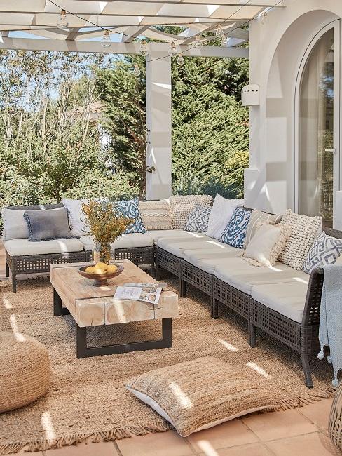 Terrassen Design mediterran