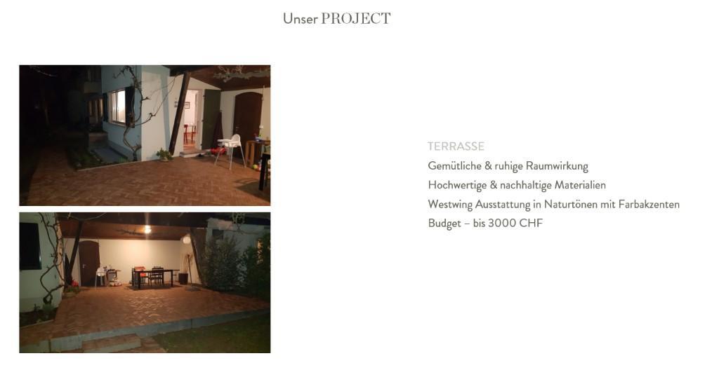 Terrasse neu gestalten Vorher Bilder Infos