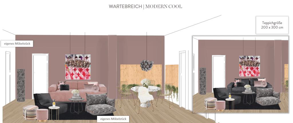 Büro einrichten Modern Cool Wartebereich