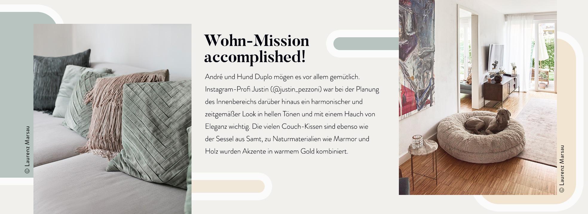 André Hamann Wohnzimmer Info Bilder