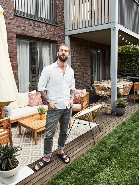 André Hamann Terrasse Lounge Sitzgruppe