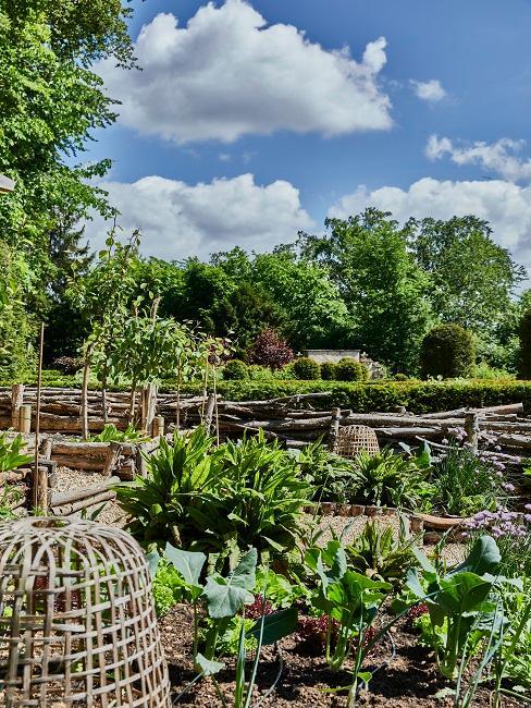 Gartendeko Ideen Beet anlegen