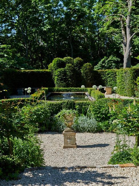 Gartendeko Ideen Wasser Pflanzen Stein