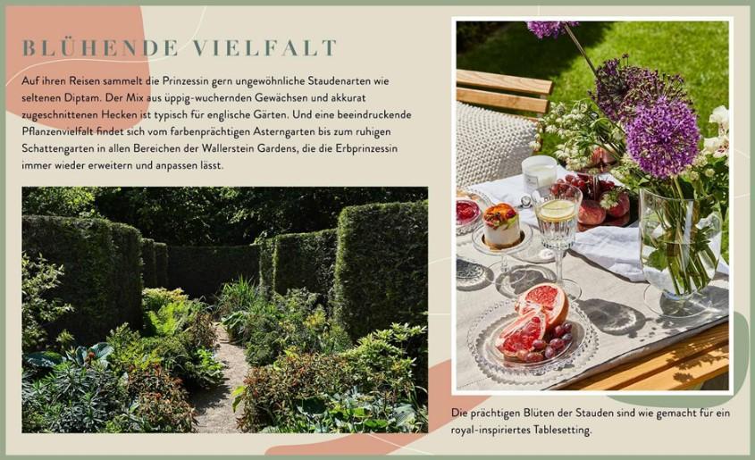 Wallerstein Gardens Informationen Blumen
