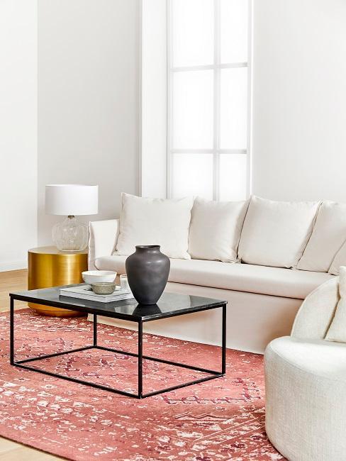 Sofa Look im glamourösen Wohnzimmer
