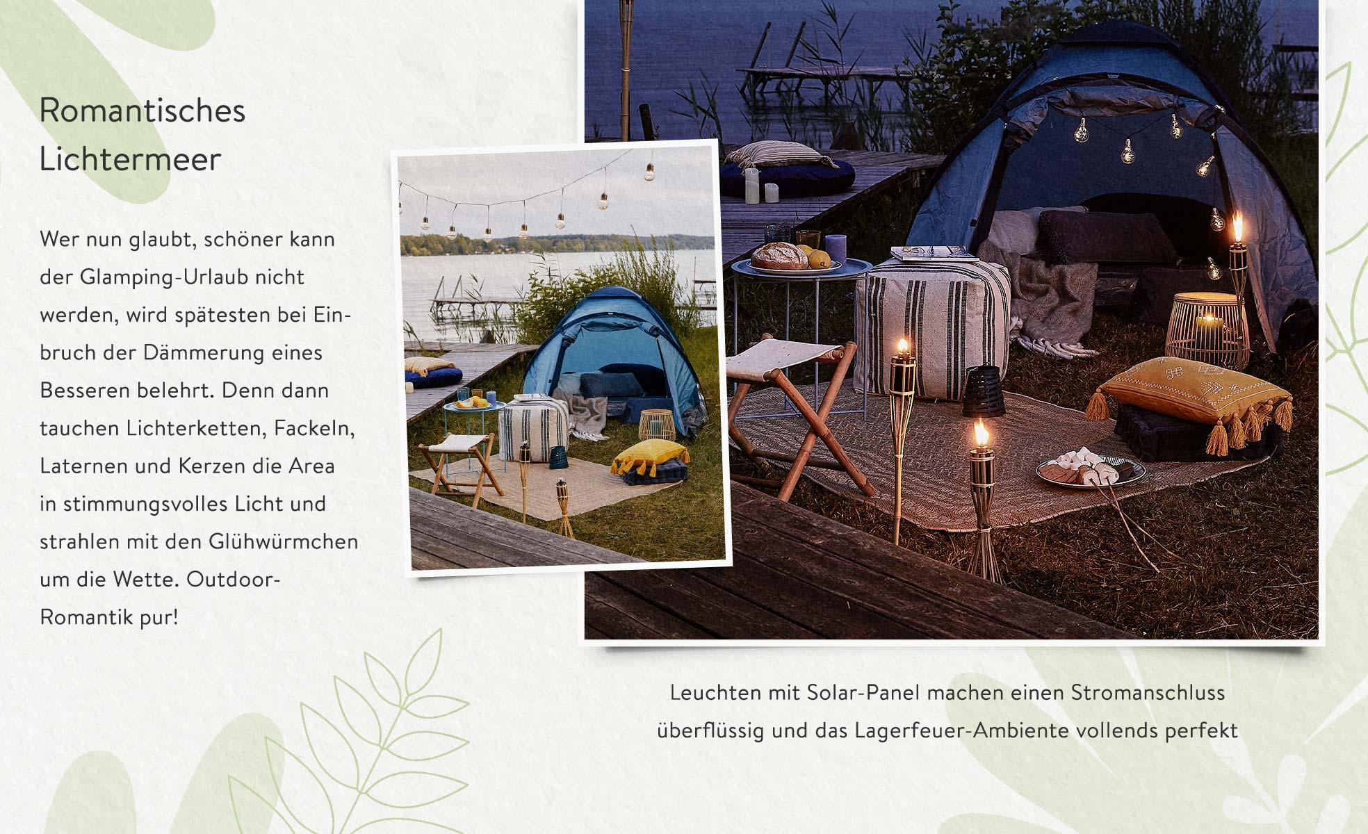 Glamping Beleuchtung