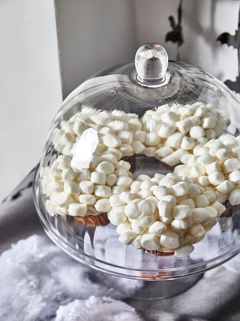 Muffins mit Marshmallows