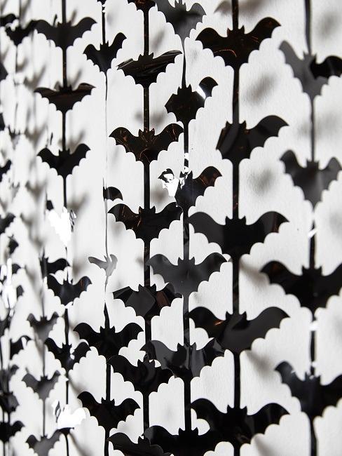 Fledermaus Girlande schwarz