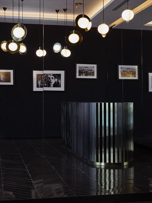 roomers münchen Event Beleuchtung Wandbilder