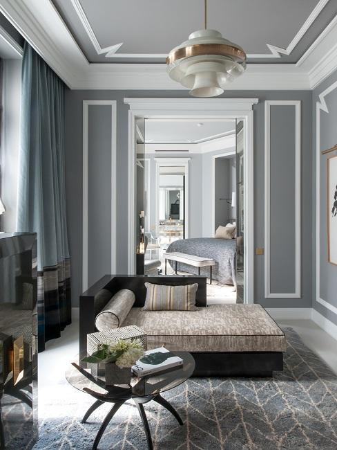 Nolinski Hotelzimmer Suite Deluxe Wohnbereich