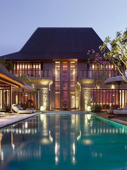 Bulgari Hotel Bali Villa Außenansicht