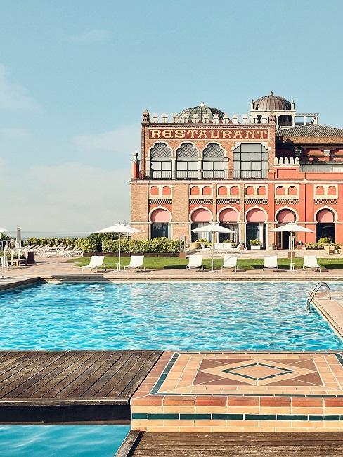 Hotel Excelsior Venice Lido Resort Pool