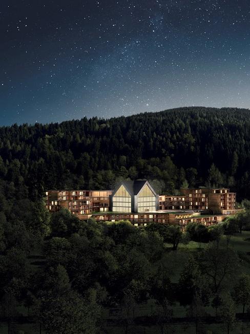 Lefay Resort SPA Dolomiti Außenansicht